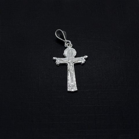 Crucifix Cross Pendant 1.1""