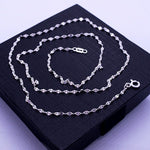 Anchor Chain Necklace 18""