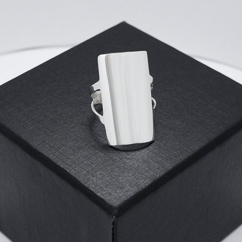 Plain Rectangular Ring # 7