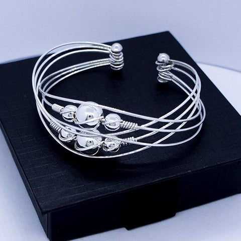 Orbiting Ball Bracelet