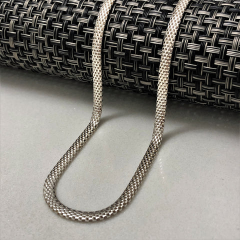 Flat Chain Necklace 21""