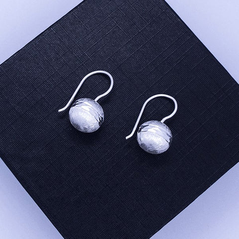 Ball Drop Earrings 20 mm