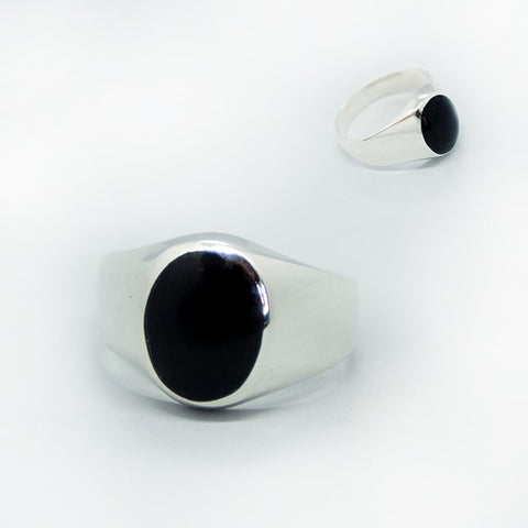 Oval Cabochon Ring for Men # 12.5