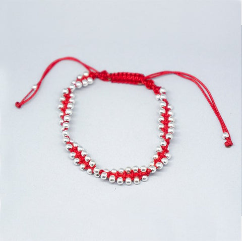 3mm Thread Bracelet with Beads