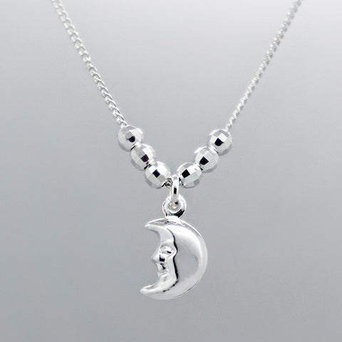 Moon Necklace 18""