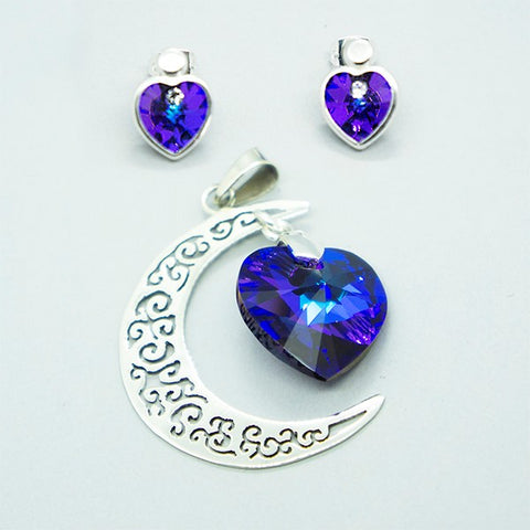 Swarovski Moon Set