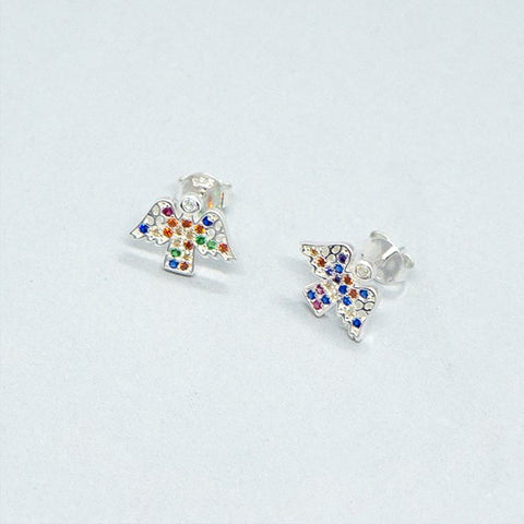 Little Angel Stud Earrings 11mm