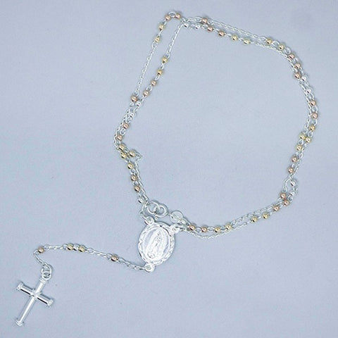 Rosary Necklace 18.5""