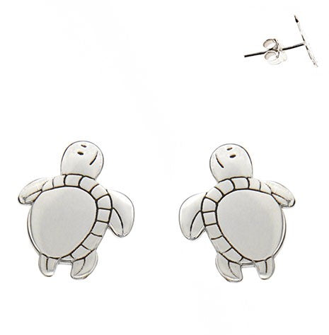 Turtles Stud Earrings 11mm