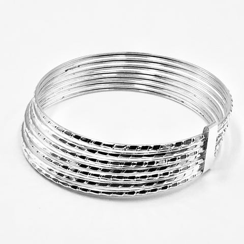 Diamond Cut Bracelet Semainier  70mm