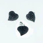 Crystal Heart Set 13mm