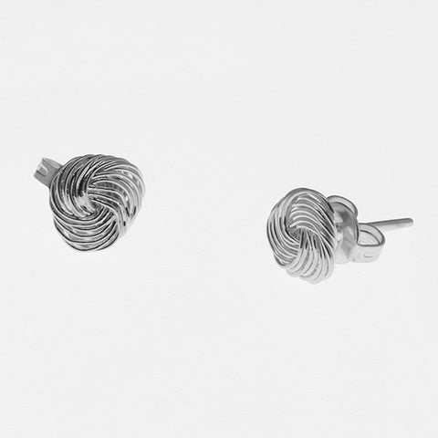 Knot Stud Earrings 7mm