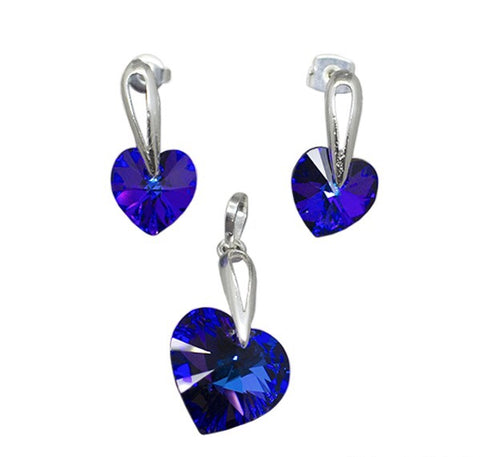 Swarovski Heart Set