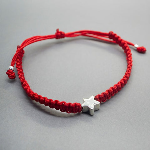 Star Braided Bracelet