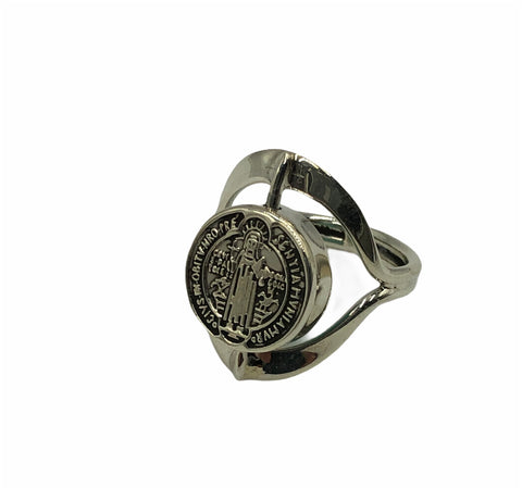 Saint Benedict Rotating Ring #7.5