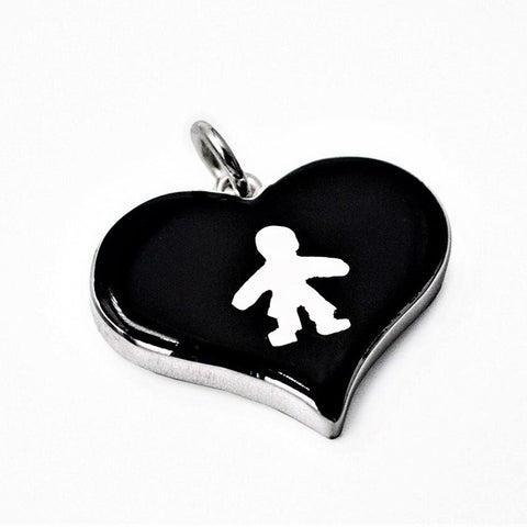Child Heart Pendant 20mm