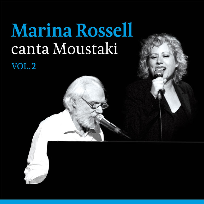 MARINA ROSSELL - CANTA A MOUSTAKI  VOL.2  CD