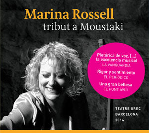 MARINA ROSSELL - TRIBUT A MOUSTAKI    CD