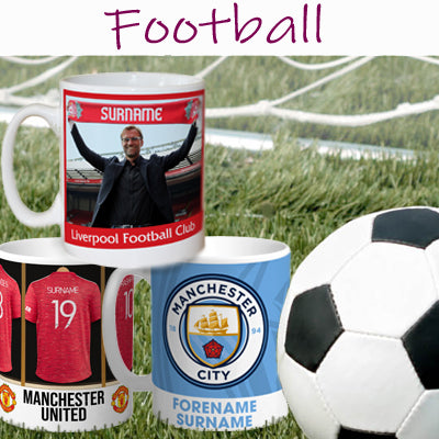 ■ Personalised Football Gifts