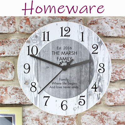 Homeware Ideas