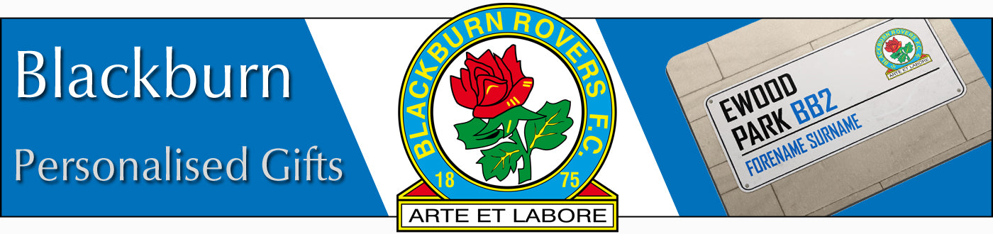 Blackburn Rovers FC Personalised Gifts