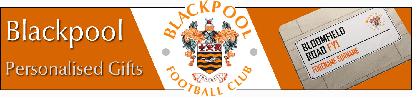 Blackpool FC Personalised Gifts
