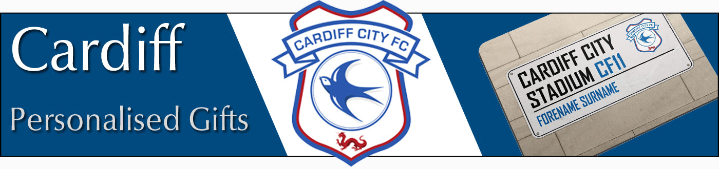 Cardiff City FC Personalised Gifts