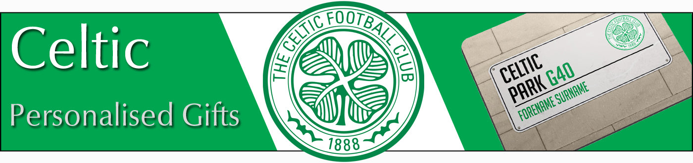 Celtic FC Personalised Gifts