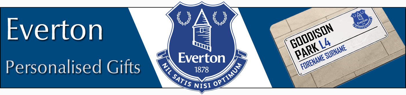 Everton FC Personalised Gifts