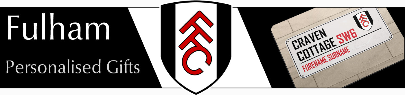 Fulham FC Personalised Gifts