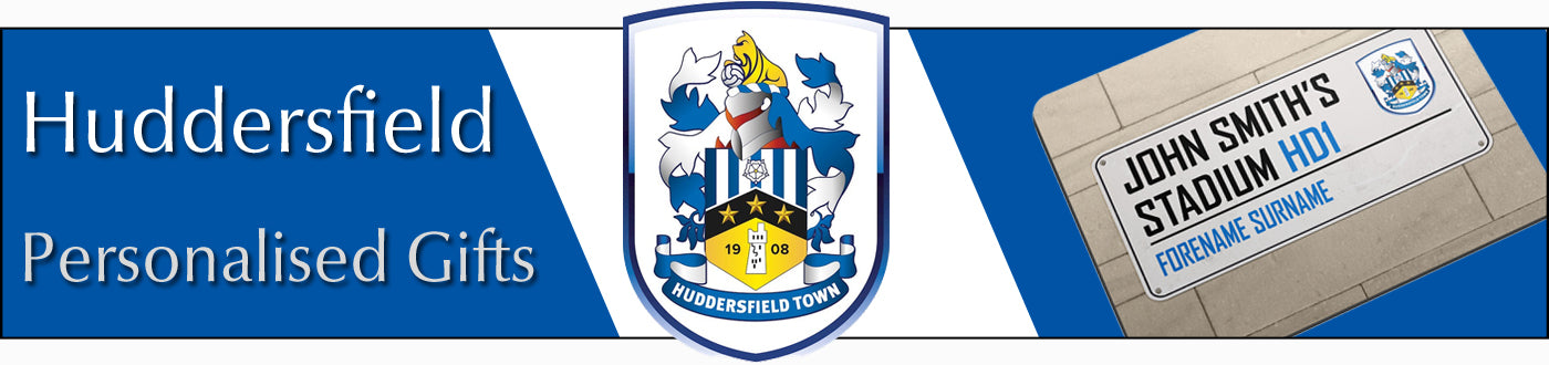 Huddersfield Town FC Personalised Gifts