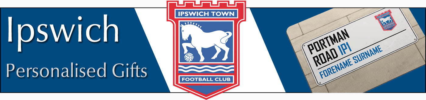Ipswich Town FC Personalised Gifts