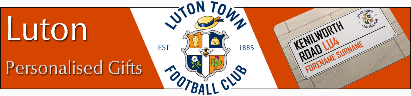 Luton Town FC Personalised Gifts
