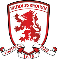 Middlesbrough Gifts. Personalised Official Licenced Football Merchandise