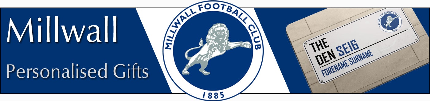 Millwall FC Personalised Gifts