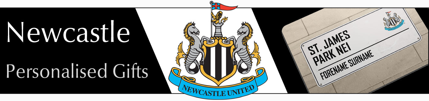 Newcastle United FC Personalised Gifts