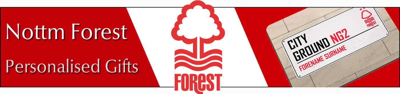 Nottingham Forest FC Personalised Gifts