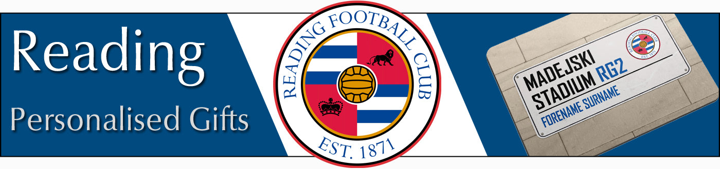 Reading FC Personalised Gifts