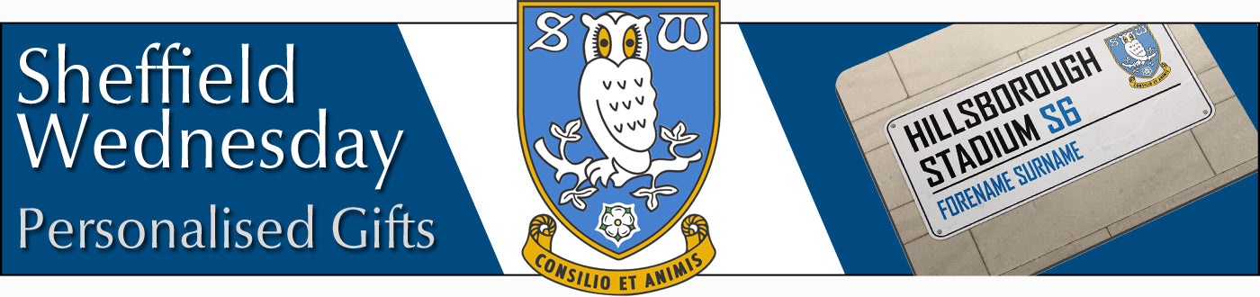 Sheffield Wednesday FC Personalised Gifts