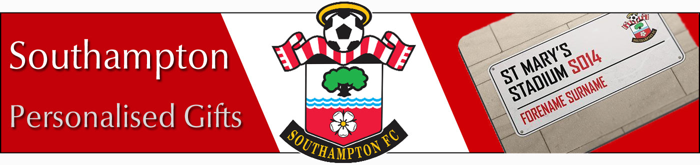 Southampton FC Personalised Gifts