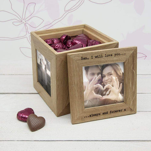 30 Days of Kisses Oak Photo Cube - Official Merchandise Gifts