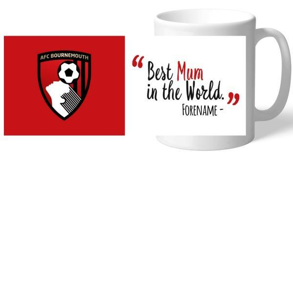 AFC Bournemouth Best Mum In The World Mug - Official Merchandise Gifts