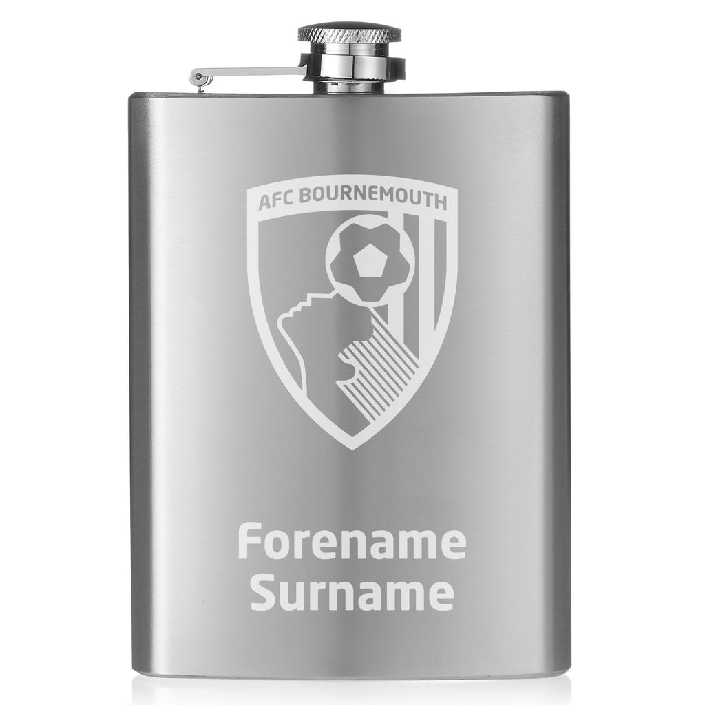 AFC Bournemouth Crest Hip Flask - Official Merchandise Gifts