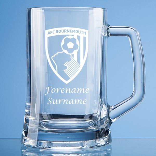 AFC Bournemouth Crest Large Tankard - Official Merchandise Gifts