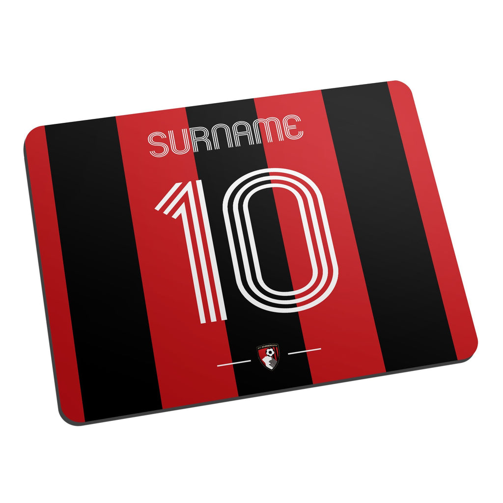 AFC Bournemouth Retro Shirt Mouse Mat - Official Merchandise Gifts