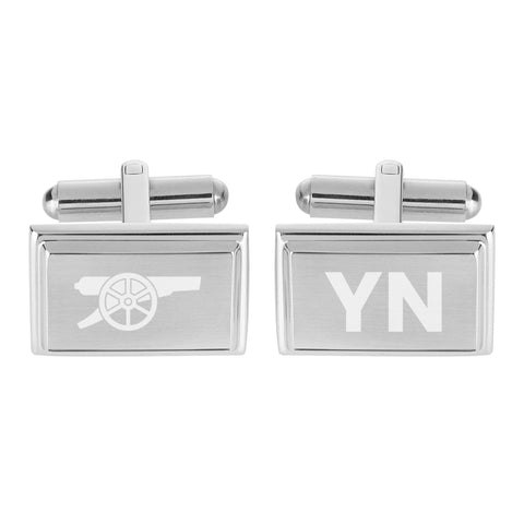 Arsenal FC Crest Cufflinks - Official Merchandise Gifts