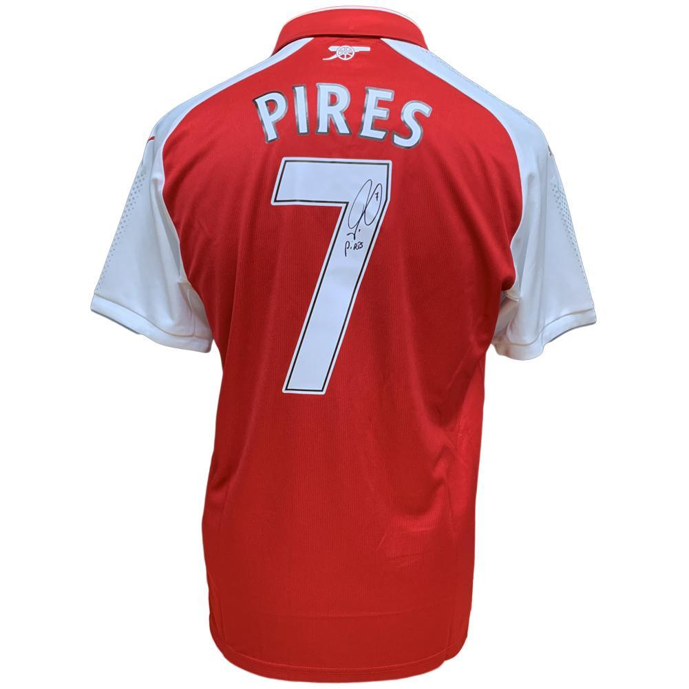 Arsenal FC Pires Signed Shirt, Collectables by Glamorous Gifts