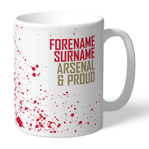 Arsenal FC Proud Mug - Official Merchandise Gifts