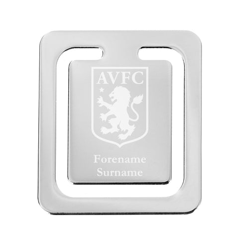 Aston Villa FC Crest Bookmark - Official Merchandise Gifts