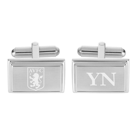 Aston Villa FC Crest Cufflinks - Official Merchandise Gifts